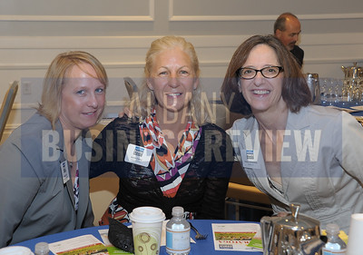 left, Michelle Pyan from Commercial Investigations, Karen Carey from Ruby Red Road and Joanne Kirkpatrick from the Saratoga Springs Holiday Inn.