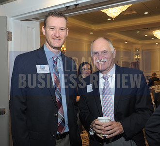 left, Andrew Mauer and Joe Bean of SMRT Architects and Engineers.