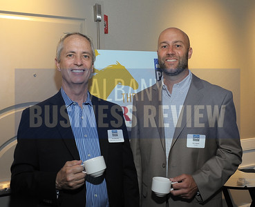 left, Joe Messner from Keeler Motor Car Company and Jim Sweet from Graybar.