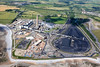 Aberthaw Power Station from the air.