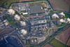 Cottam Power Station from the air.