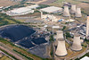 Aerial photo of Didcott Power Station.