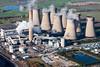 Aerial photo of Eggborough Power Station.