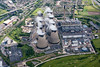 Aerial photo of Ferrybridge C Power station.