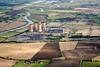 Aerial photo of High Marnham Power Station.