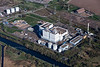 An aerial photo of Keadby Power Station in Lincolnshire.