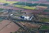 Aerial photo of Keadby Power Station.
