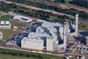 Aerial photo of Staythorpe Power Station in Nottinghamshire.