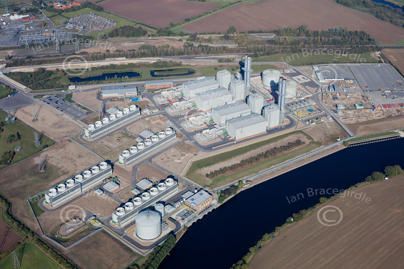 taythorpe Power Station from the air.
