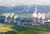 Aerial photo of West Burton Power Station.