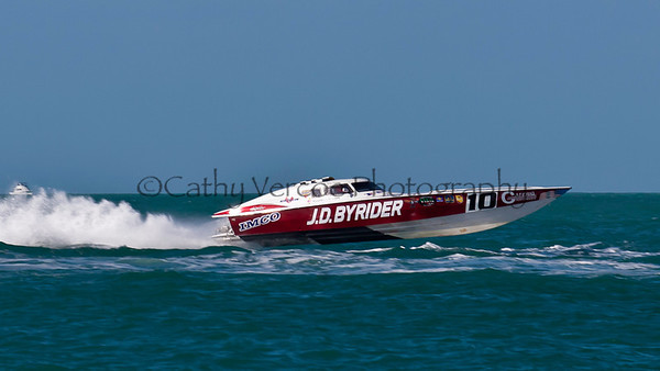 at the Superboat International Key West World Offshore Powerboat Championship in Key West Florida USA 2012. Cathy Vercoe LuvMyBoat.com