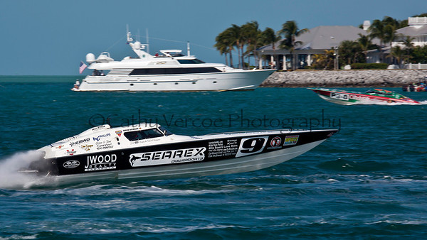 Searex at the Superboat International Key West World Offshore Powerboat Championship in Key West Florida USA 2012. Cathy Vercoe LuvMyBoat.com