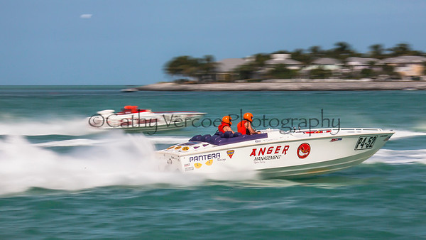 Anger Management at the 2013 SBI Superboat International Offshore Powerboat World Championships at Key West, Florida, USA. Cathy Vercoe LuvMyBoat.com