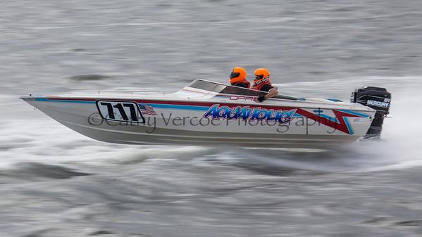 Aquaholic racing at the OPA Offshore World Championships at Solomon Island in Maryland USA. Image 13 Cathy Vercoe LuvMyBoat.com