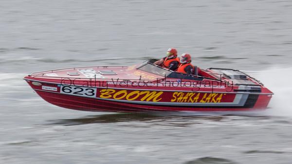 Boom Shaka Laka racing at the OPA Offshore World Championships at Solomon Island in Maryland USA.  Image 17 Cathy Vercoe LuvMyBoat.com