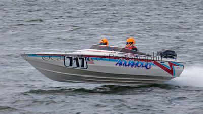 Aquaholic racing at the OPA Offshore World Championships at Solomon Island in Maryland USA. Image 10 Cathy Vercoe LuvMyBoat.com