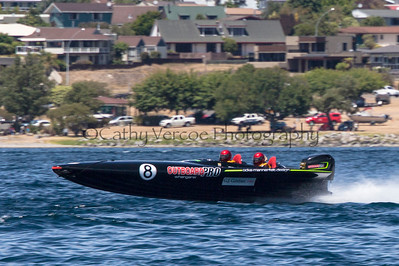 Outboard Pro at the first race of the 2013 New Zealand Offshore Powerboat Racing season on Lake Taupo. Cathy Vercoe LuvMyBoat.com