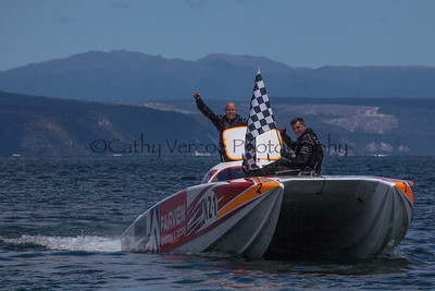 Fairview win at the first race of the 2013 New Zealand Offshore Powerboat Racing season on Lake Taupo. Cathy Vercoe LuvMyBoat.com