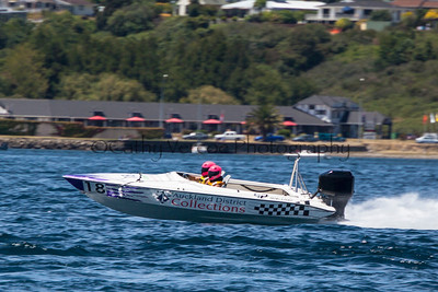 Auckland District Collections at the first race of the 2013 New Zealand Offshore Powerboat Racing season on Lake Taupo. Cathy Vercoe LuvMyBoat.com