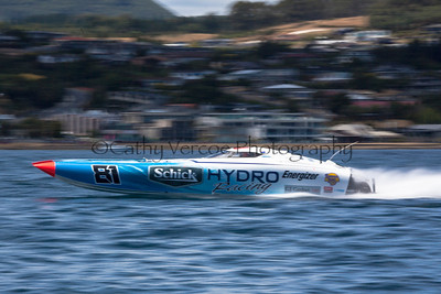 Schick Hydro races at the first race of the 2013 New Zealand Offshore Powerboat Racing season on Lake Taupo. Cathy Vercoe LuvMyBoat.com
