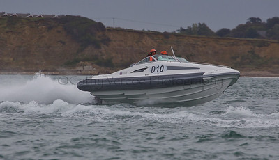 No D10 RIB races at the P1 Powerboat RIB race from Lymington 2010.
