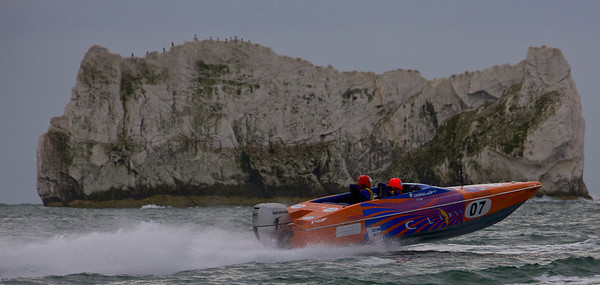 Eclipse at the P1 Powerboat Superstock race from Lymington 2010.