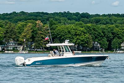 Blue Boston Whaler