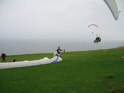 Paragliding at Torrey Pines, CA - 2005