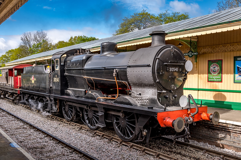 SR Maunsell Q-class No.30541 at Horsted Keynes