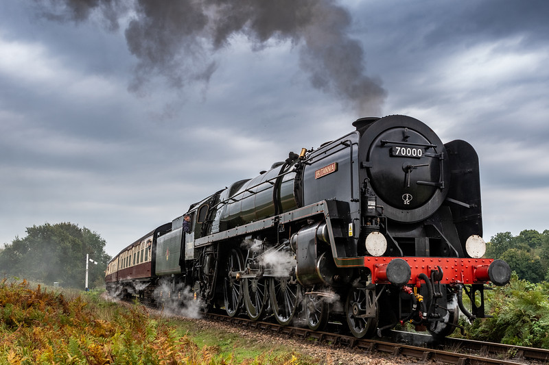A Portrait of Power - BR Standard Class 7 70000 Britannia