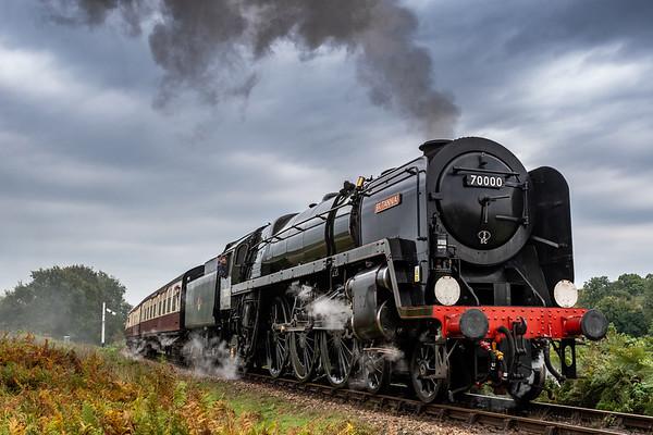 A Portrait of Power - BR Standard Class 7 70000 Britannia
