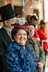 Waiting to greet Queen Victoria