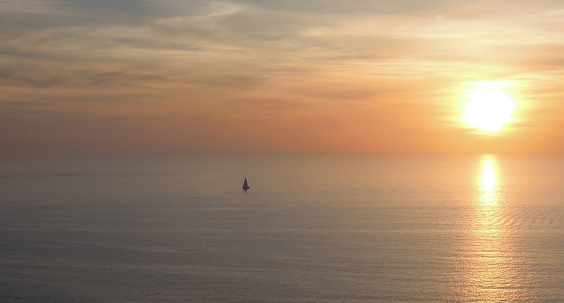 Sailing the sunset, Gulf of Mexico
