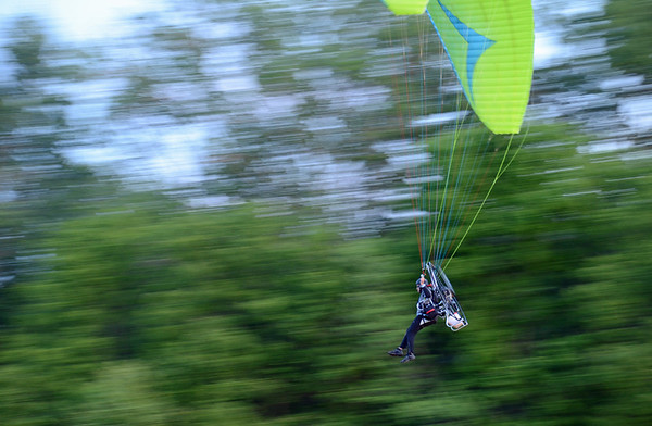 Powered-paragliding
