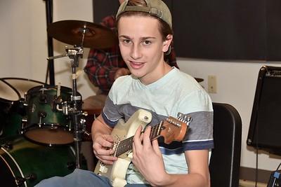 Practice, Practice, Practice Upper School Band photos by Gary Baker