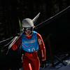 KRISTOPHER RADDER — BRATTLEBORO REFORMER<br /> Ski jumpers go down the Harris Hill Ski Jump, in Brattleboro, Vt., during a day of practice on Friday, Feb. 14, 2020.
