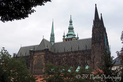 St. Vitus Cathedral, the oldest gothic cathedral in central Europe