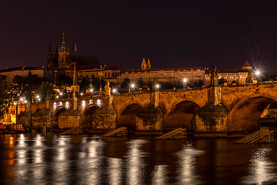 Ice Breakers to protect the Charles Bridge