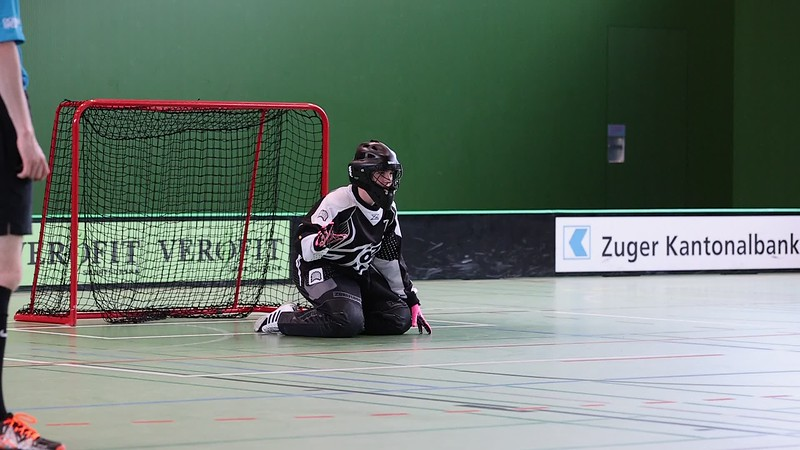 Penalty Floorball Bern - Basel Regio