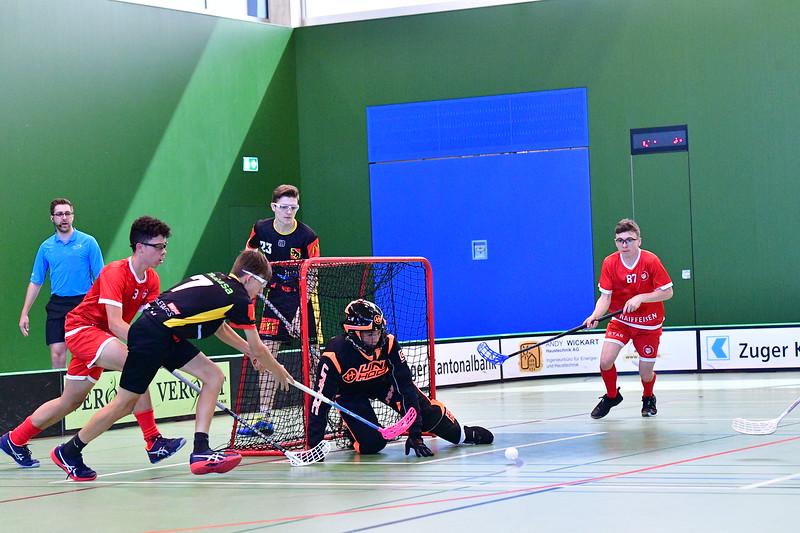 Floorball Bern - Floorball Epalinges 18