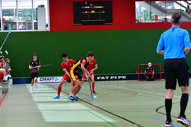 Floorball Bern - Floorball Epalinges 28