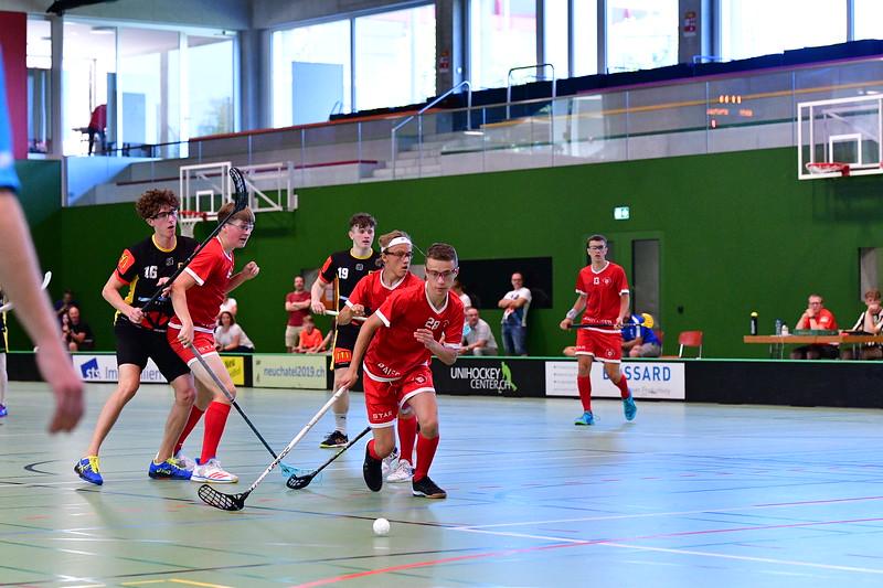 Floorball Bern - Floorball Epalinges 30