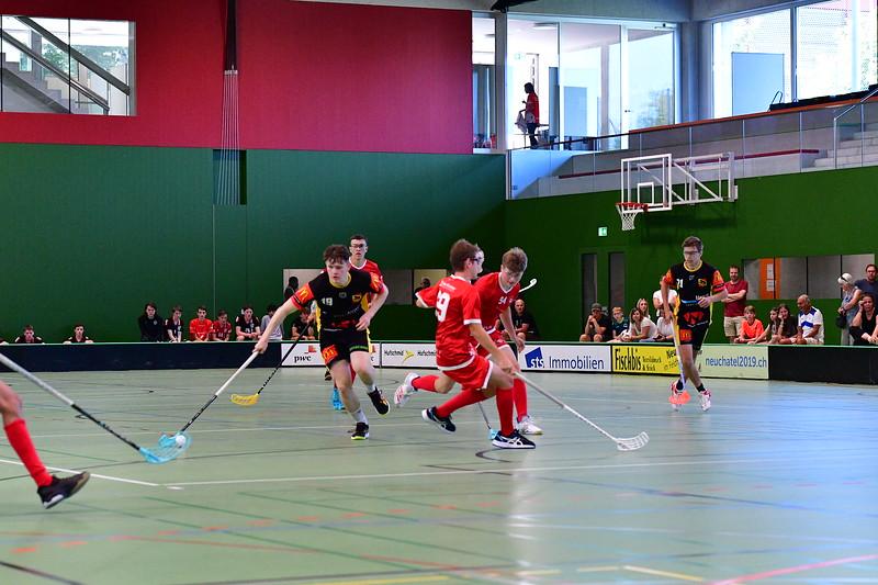 Floorball Bern - Floorball Epalinges 33