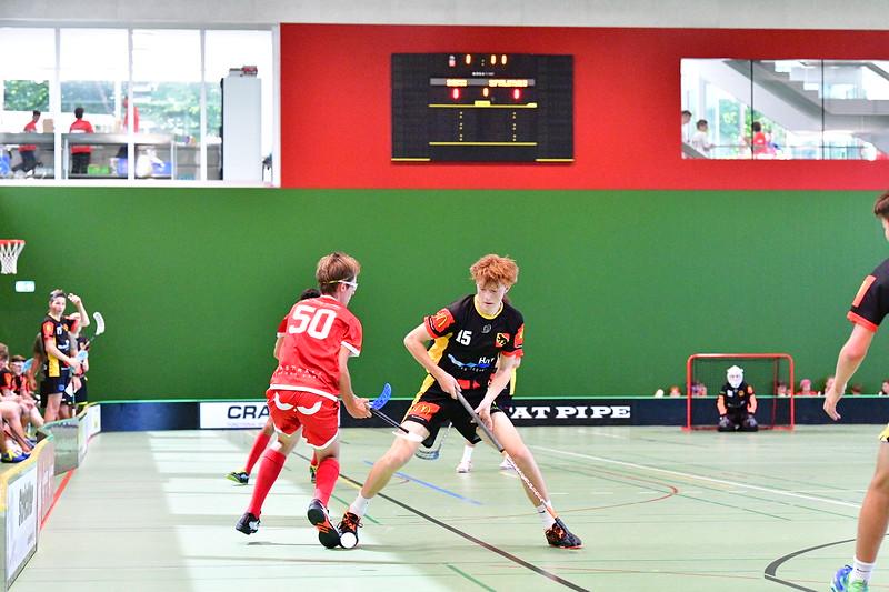 Floorball Bern - Floorball Epalinges 40