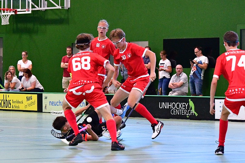 Floorball Bern - Floorball Epalinges 11