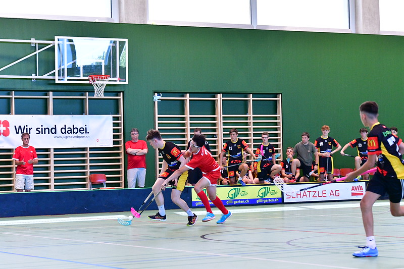 Floorball Bern - Floorball Epalinges 20