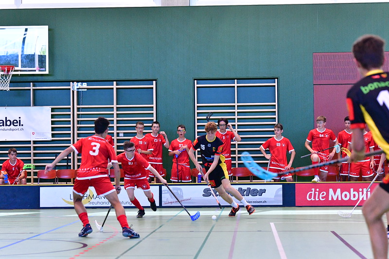 Floorball Bern - Floorball Epalinges 23