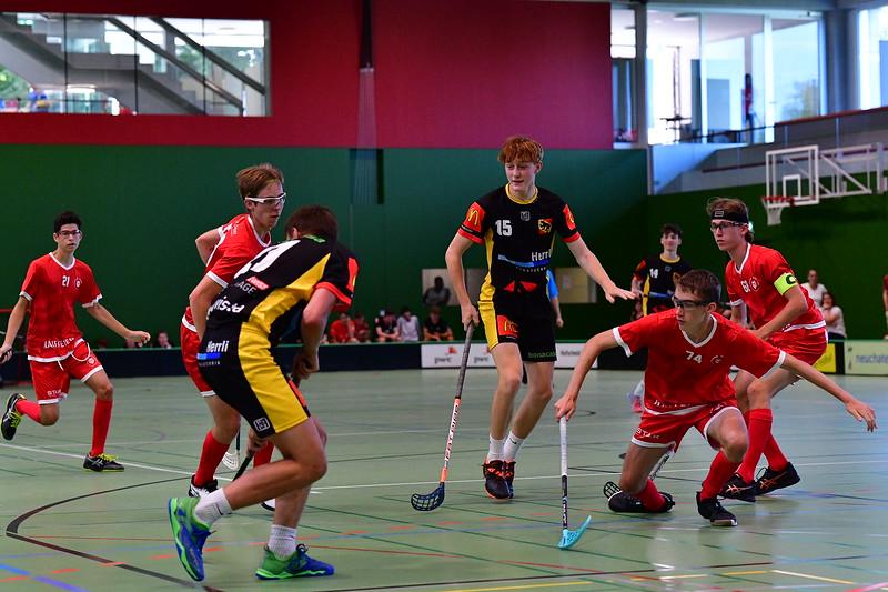 Floorball Bern - Floorball Epalinges 41