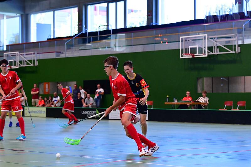 Floorball Bern - Floorball Epalinges 38