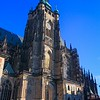 St. Vitus Cathedral. To avoid crowds our tour hit the church early, but paid a price in sun angles/shadows for the outside photos.